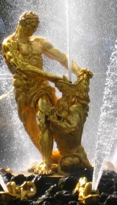 Козловский М. И. Самсон, разрывающий пасть льву