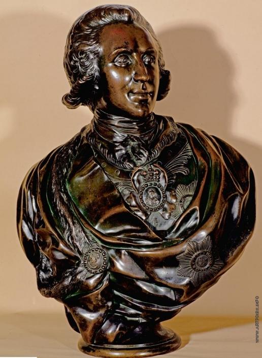 Шубин Ф. И. Портрет графа П.А.Зубова