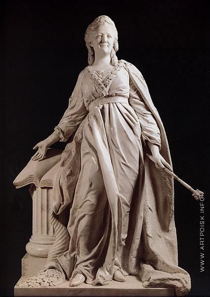 Шубин Ф. И. Статуя Екатерины II – законодательницы
