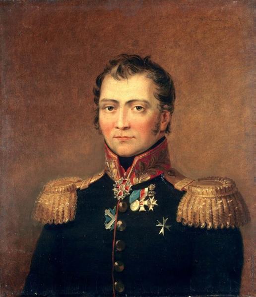 Доу Д. Ф. Портрет Семена Христофоровича Ставракова