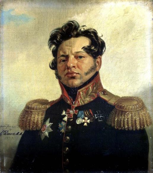 Доу Д. Ф.  Портрет Федора Николаевича Посникова