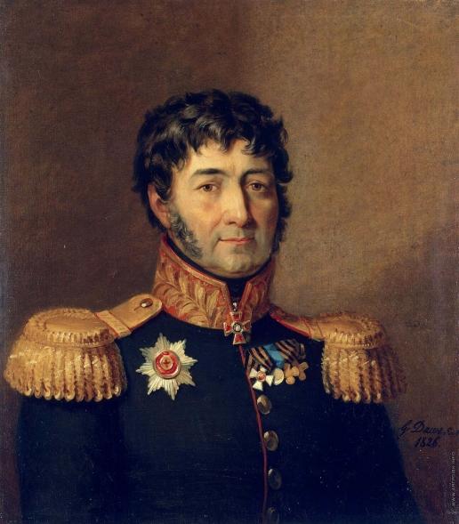 Доу Д. Ф. Портрет Семена Георгиевича Гангеблова