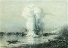 Боголюбов А. П. Взрыв турецкого парохода «Люфти-Джелиль»