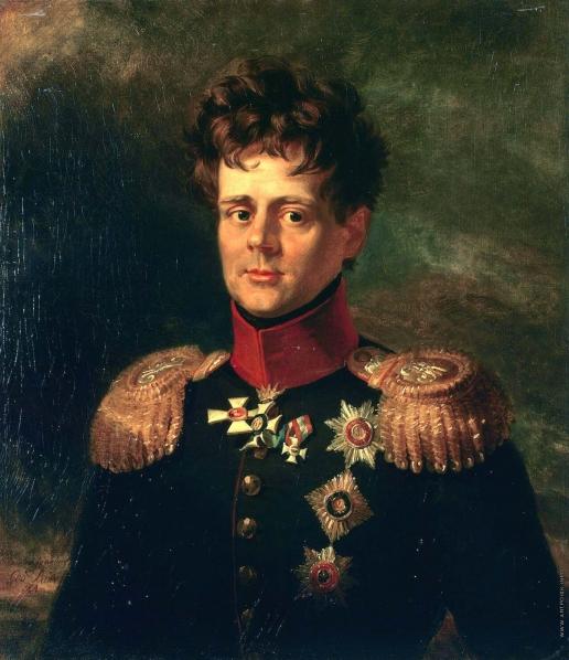 Доу Д. Ф. Портрет принца Евгения Вюртембергского