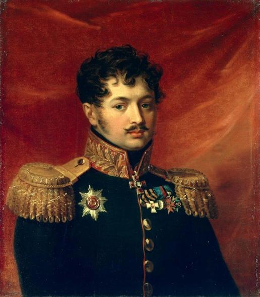 Доу Д. Ф. Портрет Петра Петровича Загряжского
