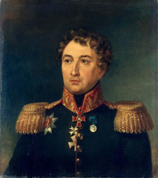 Доу Д. Ф. Портрет Петра Михайловича Колюбакина