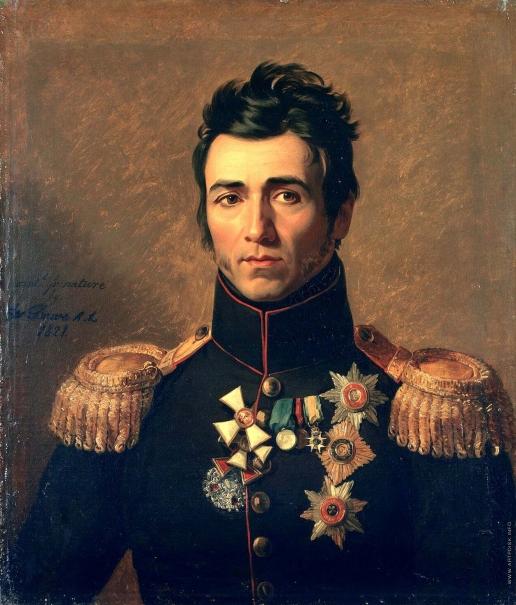 Доу Д. Ф. Портрет Петра Михайловича Капцевича