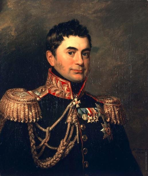 Доу Д. Ф. Портрет Петра Михайловича Волконского