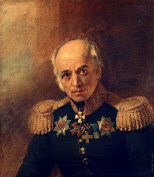 Доу Д. Ф. Портрет Пантелеймона Егоровича Бенардоса