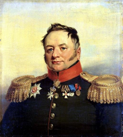 Доу Д. Ф. Портрет Павла Алексеевича Тучкова