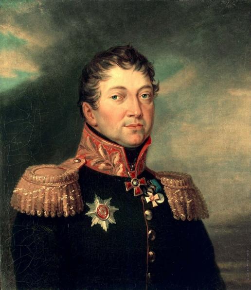 Доу Д. Ф. Портрет Отто Федоровича фон Кнорринга