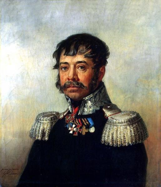 Доу Д. Ф. Портрет Осипа Васильевича Иловайского