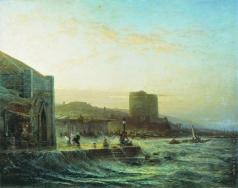 Боголюбов А. П. Вид Баку