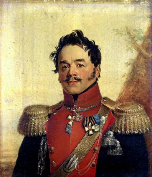 Доу Д. Ф. Портрет Николая Григорьевича Щербатова