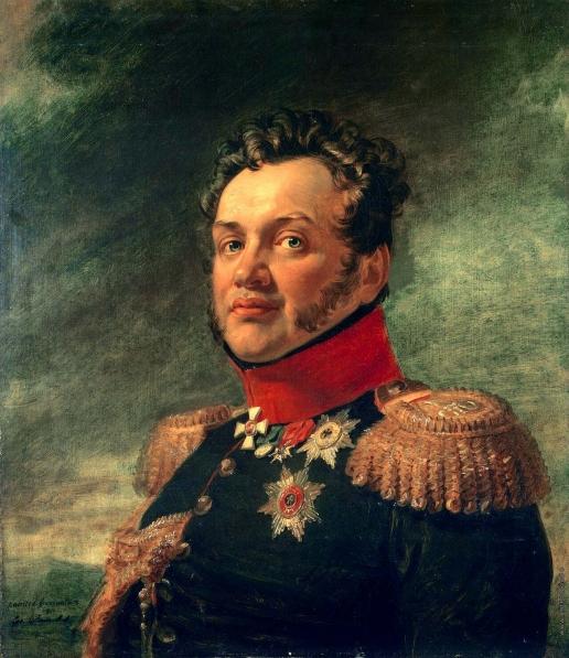 Доу Д. Ф. Портрет Николая Григорьевича Репнина-Волконского