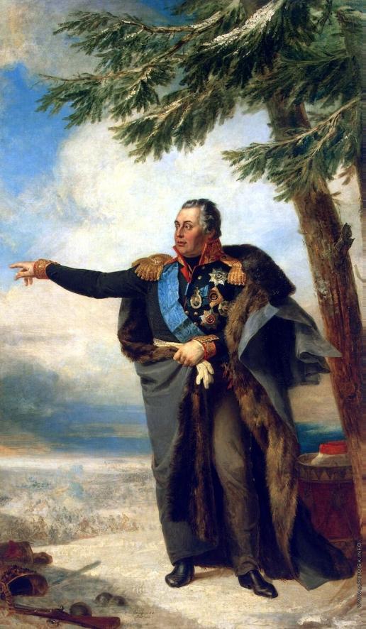 Доу Д. Ф. Портрет Михаила Илларионовича Кутузова