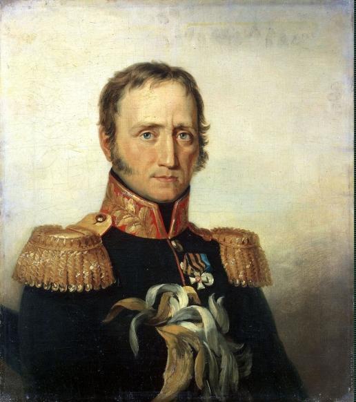 Доу Д. Ф. Портрет Михаила Ивановича Понсета