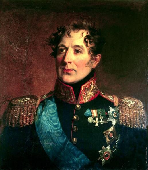 Доу Д. Ф. Портрет Михаила Андреевича Милорадовича