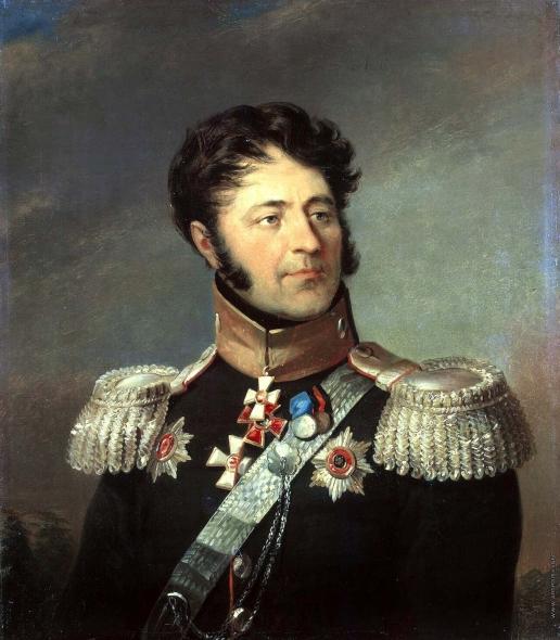 Доу Д. Ф. Портрет Луки Алексеевича Денисьева