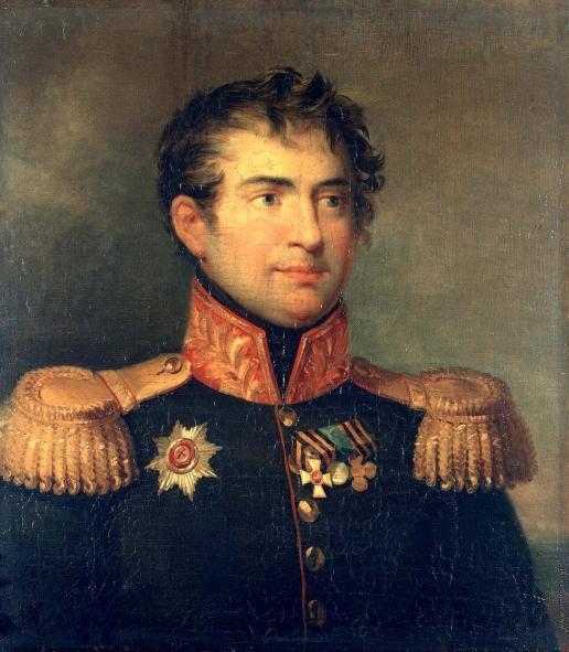 Доу Д. Ф. Портрет Карла Максимовича Герцдорфа