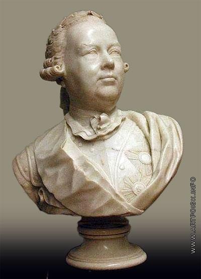 Шубин Ф. И. портрет фельдмаршала П. А. Румянцева-Задунайского