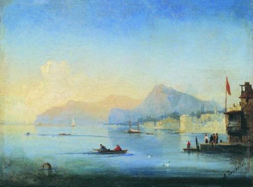 Боголюбов А. П. Вид Синопской бухты