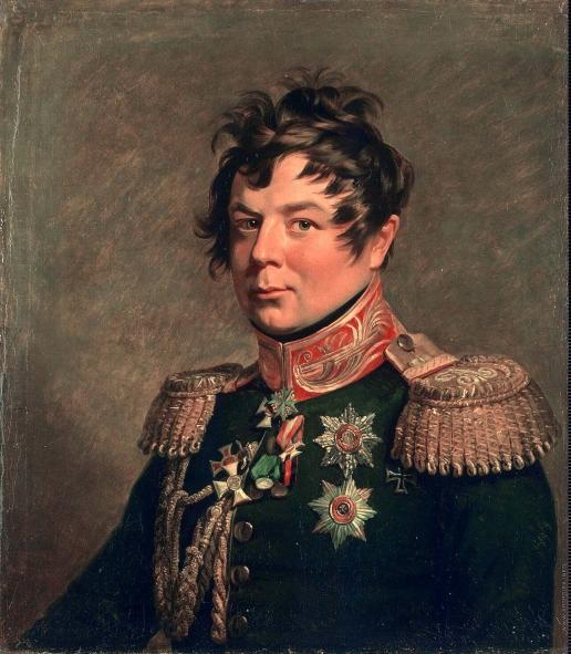 Доу Д. Ф. Портрет Ивана Ивановича Дибича-Забалканского