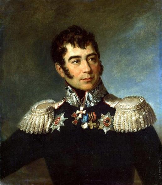 Доу Д. Ф. Портрет Ивана Дмитриевича Иловайского