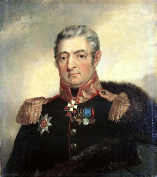 Доу Д. Ф. Портрет Еремея Яковлевича Савоини