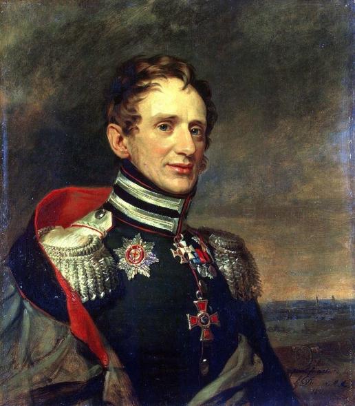 Доу Д. Ф. Портрет Егора Карловича Сиверса