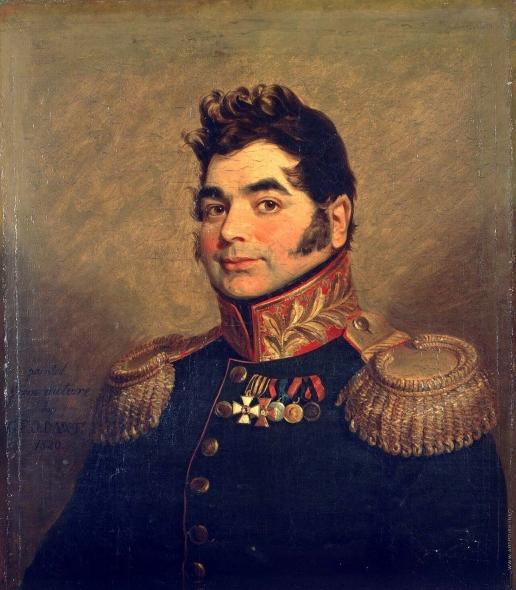 Доу Д. Ф. Портрет Дмитрия Михайловича Мордвинова