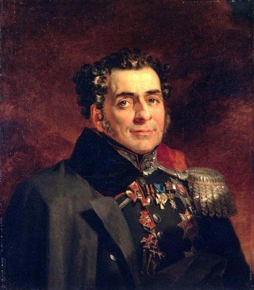 Доу Д. Ф. Портрет Дмитрия Дмитриевича Куруты