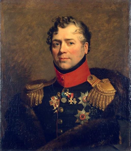 Доу Д. Ф. Портрет Дмитрия Владимировича Голицына