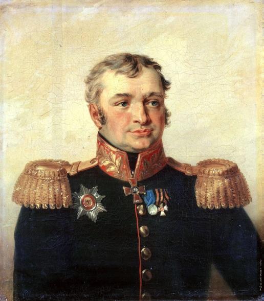 Доу Д. Ф. Портрет Василия Сергеевича Рахманова