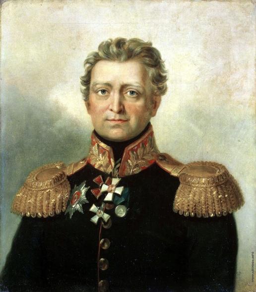 Доу Д. Ф. Портрет Василия Ивановича Гарпе
