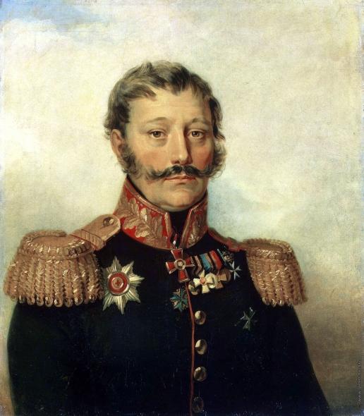 Доу Д. Ф. Портрет Василия Дмитриевича Рыкова