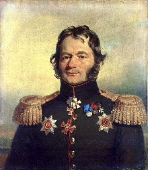 Доу Д. Ф. Портрет Василия Григорьевича Костенецкого