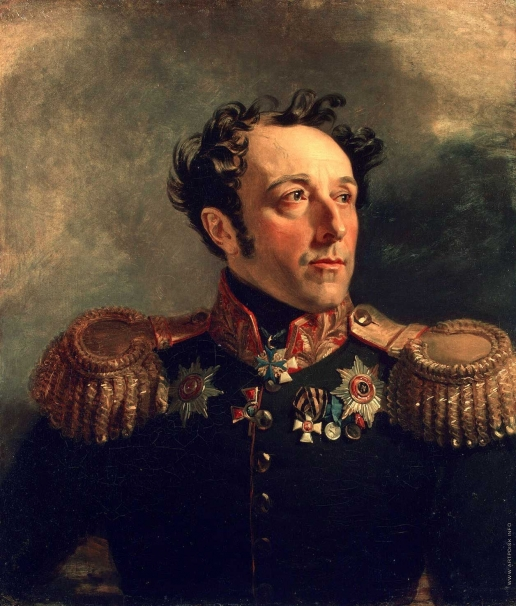 Доу Д. Ф. Портрет Бориса Яковлевича Княжнина