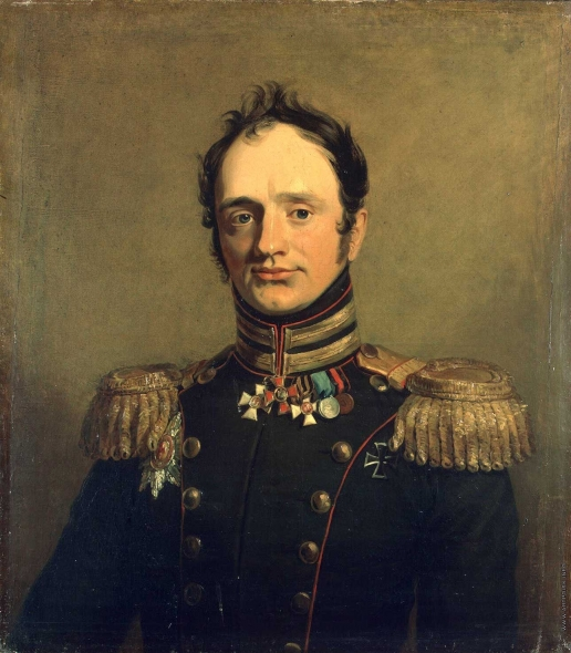 Доу Д. Ф. Портрет Бориса Христофоровича Рихтера