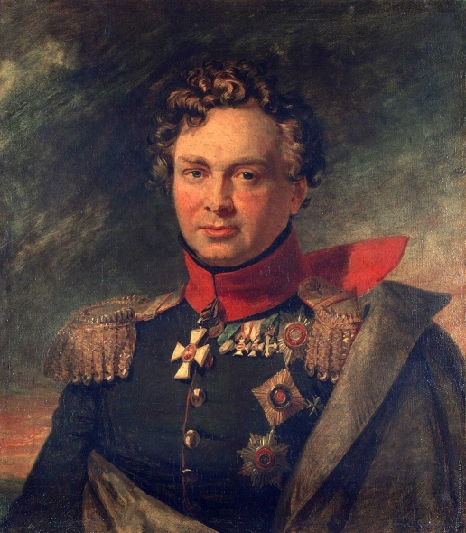 Доу Д. Ф. Портрет Андрея Ивановича Горчакова