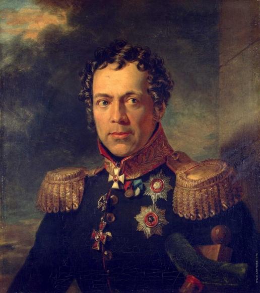 Доу Д. Ф. Портрет Алексея Николаевича Бахметева