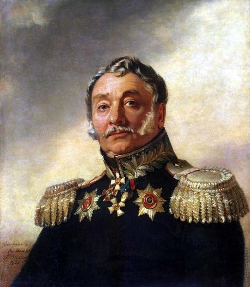 Доу Д. Ф. Портрет Алексея Васильевича Иловайского