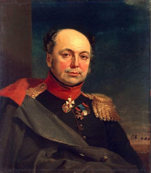 Доу Д. Ф. Портрет Алексея Васильевича Воейкова