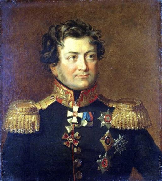 Доу Д. Ф. Портрет Александра Яковлевича Рудзевича