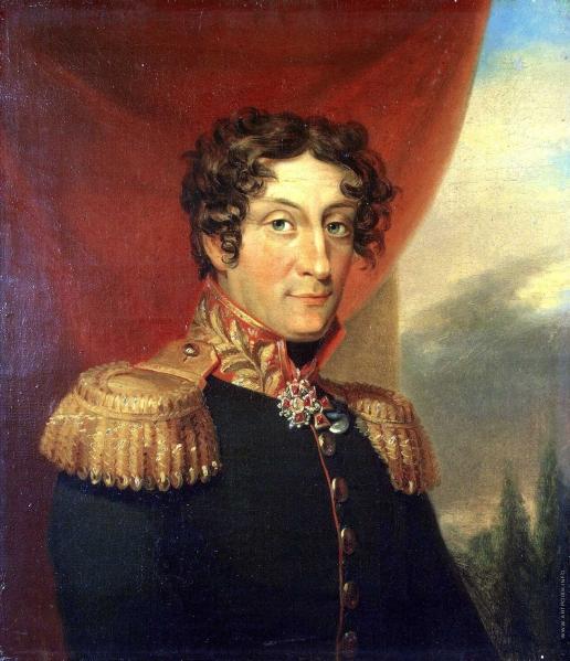 Доу Д. Ф. Портрет Александра Яковлевича Паттона