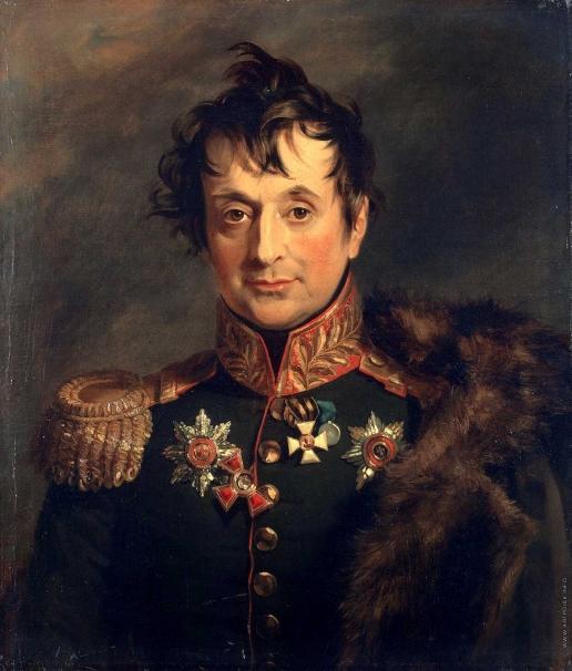 Доу Д. Ф. Портрет Александра Яковлевича Княжнина