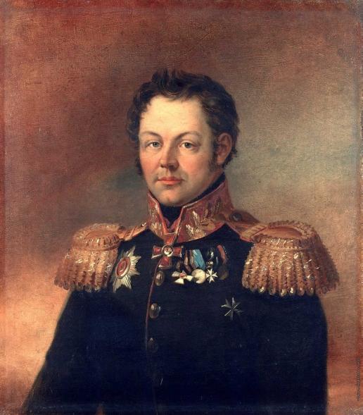 Доу Д. Ф. Портрет Александра Эммануиловича Пейкера