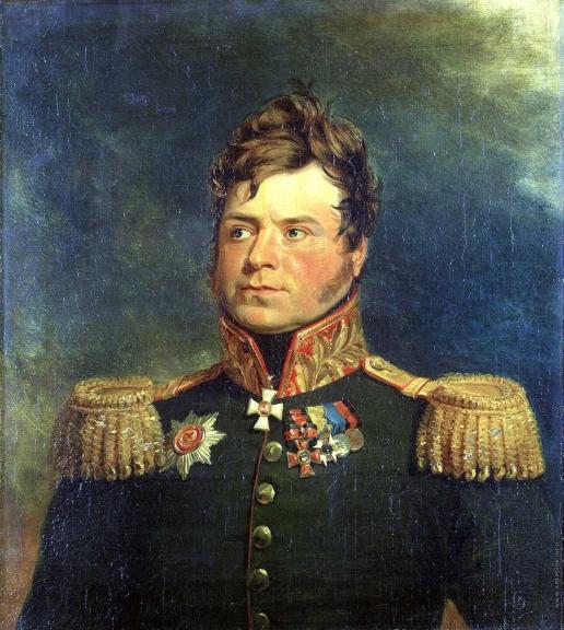 Доу Д. Ф. Портрет Александра Карловича Ридингера