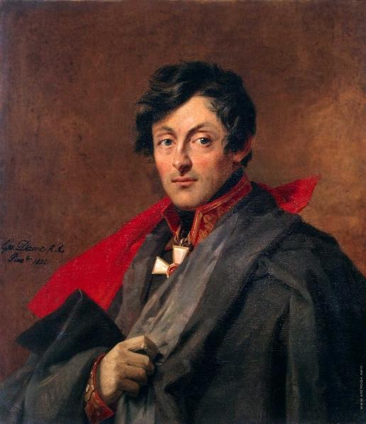 Доу Д. Ф. Портрет Александра Ивановича Остермана-Толстого