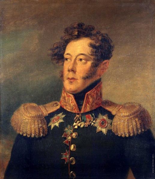 Доу Д. Ф. Портрет Александра Ивановича Альбрехта
